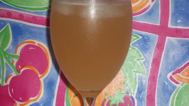 Copycat Applebees Peach Sangria  by the pitcher    3 cups Sutter Home White Zinfandel wine  1 1/4 cup De Kuyper Peachtree Schnapps  1 cup pineapple juice  2 cups 7 Up.
