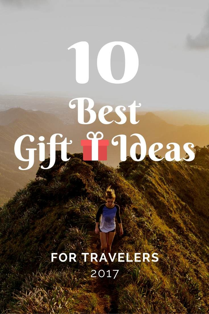 The 10 best gift ideas for travelers, cool and affordable!