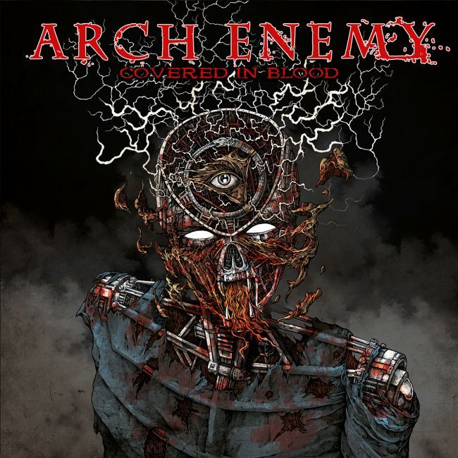 Arch Enemy Covered In Blood Arch Enemy Metal Albums Iron