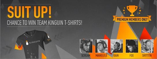 It's TEE Time!  Giveaway with Team Kinguin!