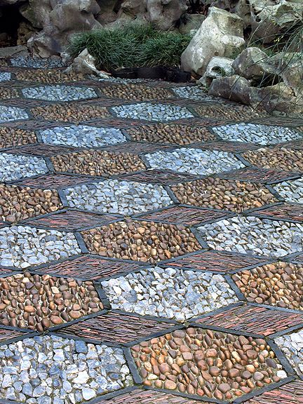Chinese Garden Design small island chinese garden design Detail Of Hexagon Stone Mosaic Path At Dr Sun Yat Sen Classical Chinese Garden