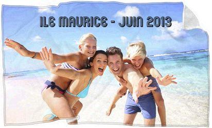 Une serviette de plage personnalisée avec la photo de vos dernières vacances, c'est excellent pour se remémorer les bon souvenirs !
