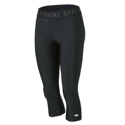 Running Bare Women's Mid-Rise 3/4 Tights