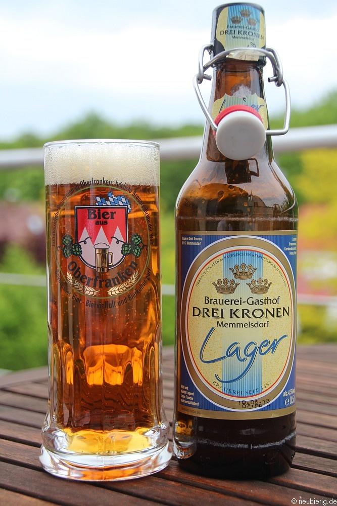 e53a53fc2631 Lager vom Brauereigasthof Drei Kronen aus Memmelsdorf