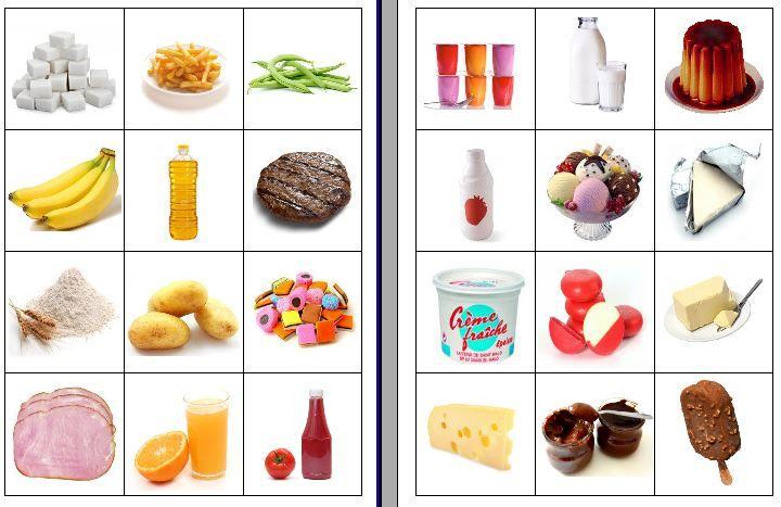 Tri produits laitiers ou non - Fofy à l'école