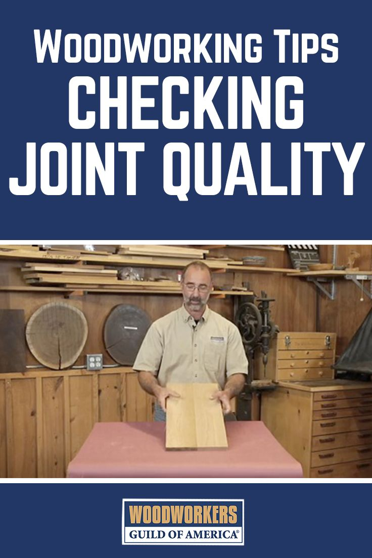 """Good joinery starts with surfaces that mate perfectly without use of clamp pressure. If excessive clamping pressure is used to pull the joint together, it will create stress on your woodworking project that can cause distortion or even splitting to occur. Master woodworker George Vondriska explains how to incorporate a """"dry run"""" into your process and check for joint quality to achieve more solid, stress-free joinery, and how to assess whether your joint is ready for glue. #woodworkingtips"""