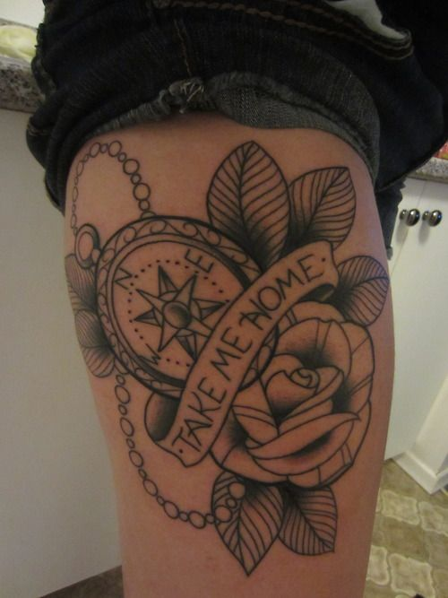 thigh tattoo design tattoo patterns| http://tattoopatterns476.blogspot.com