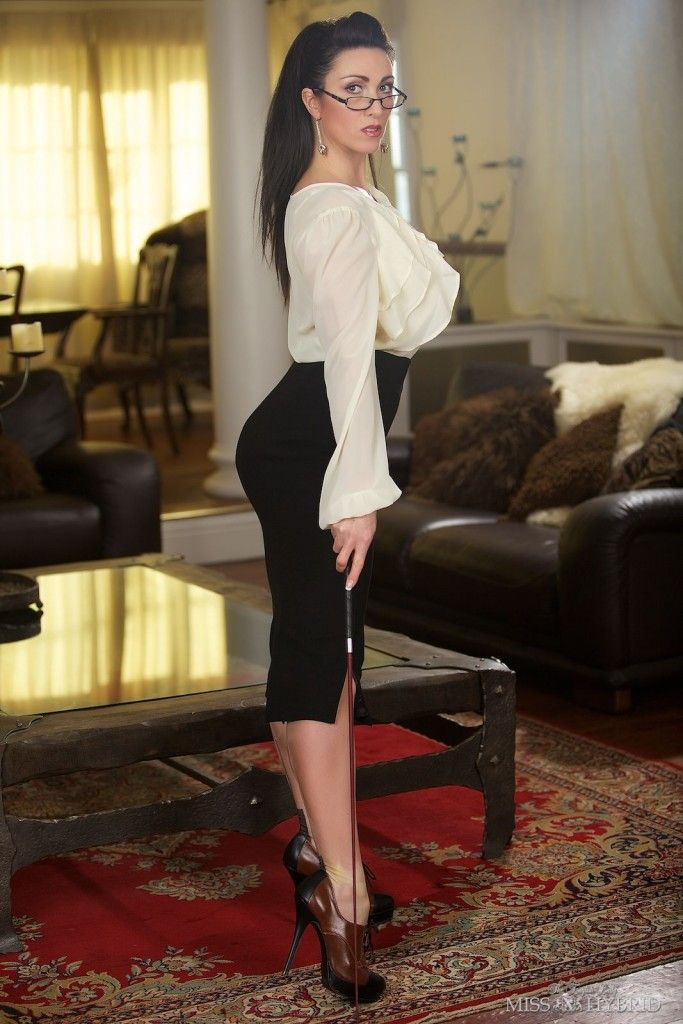 black pencil skirt white blouse sheer pantyhose black and