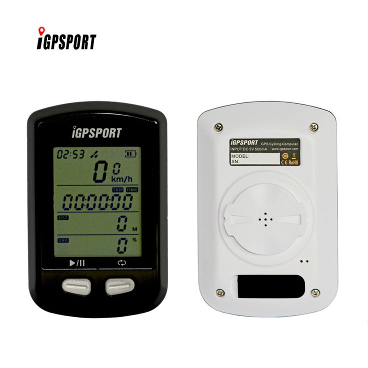 IGPSPORT 2.4GHz wireless waterproof bike speedometer iGS10 cateye bike computer