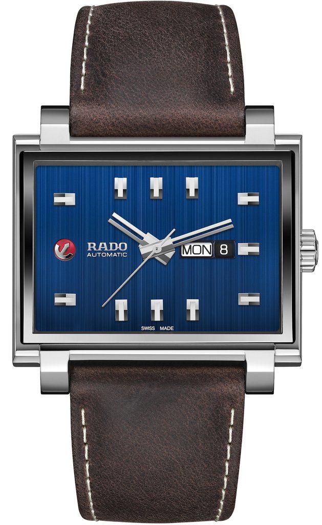 db0d411787b57 Rado Watch Tradition 1965 XL Limited Edition #add-content #basel-18  #bezel-fixed #bracelet-strap-leather #brand-rado #case-material-titanium ...