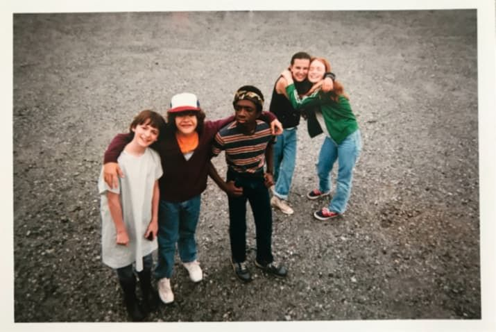 """Just 26 Adorable Photos Of The """"Stranger Things"""" Cast Hanging Out IRL"""