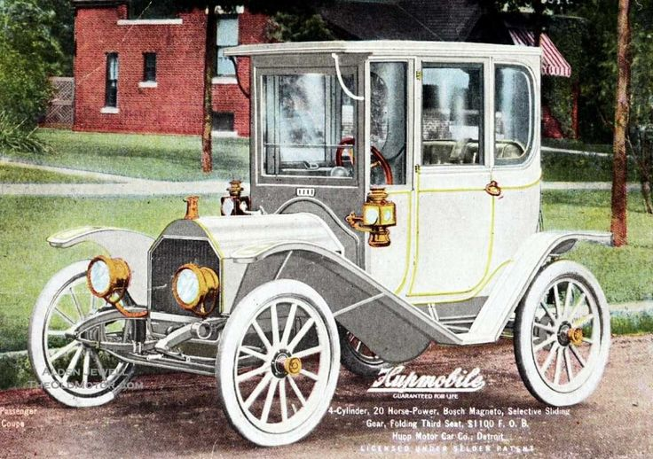1911 Huppmobile   ===>  https://de.pinterest.com/imsnogirl2/old-time-transportation/