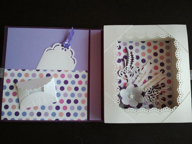 Inside cupcake bookcard.