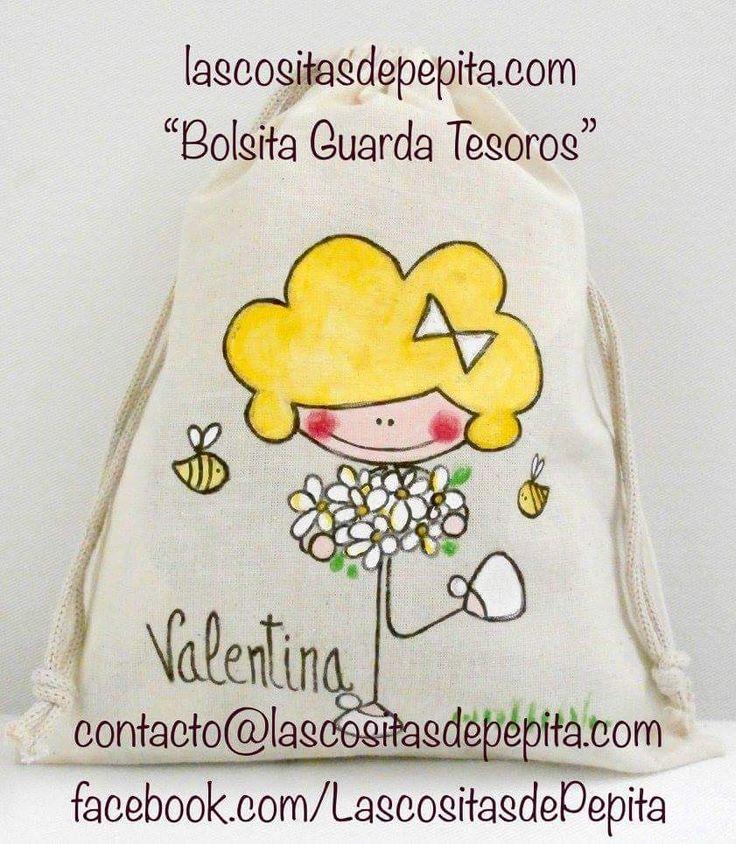 Las cositas de Pepita: Bolsas de tela
