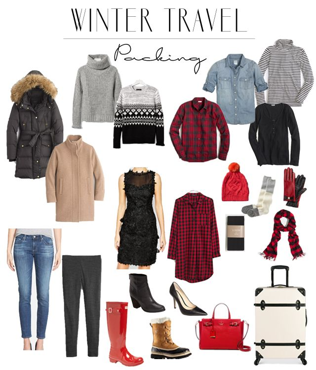 same basic principles apply for winter travel, except probably even more so, because the pieces you are packing are typically quite a bit bulkier and theref