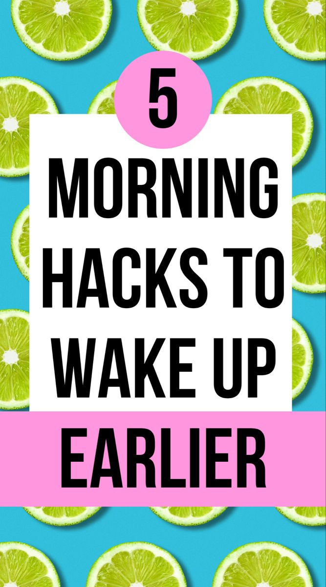 how to motivate yourself to get up early