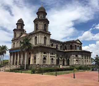 The Old Cathedral of Managua or Catedral de Santiago.  It survived one first earthquake in 1931 when all its iron architecture (shipped from Belgium) was constructed, but couldn't stand for another earthquake in 1972, that even destroyed 90% of the capital city.  #neoclasical #architecture #cathedral #church #outdoors #tourism #visitnicaragua #history #earthquake #managua #jicaroisland #nicatravel #travelpic #instago #traveldeeper #citytour #explore #connect #tbt #thursday #throwbackthursday