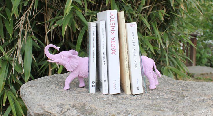 serre livre éléphant rose, EllyBeth