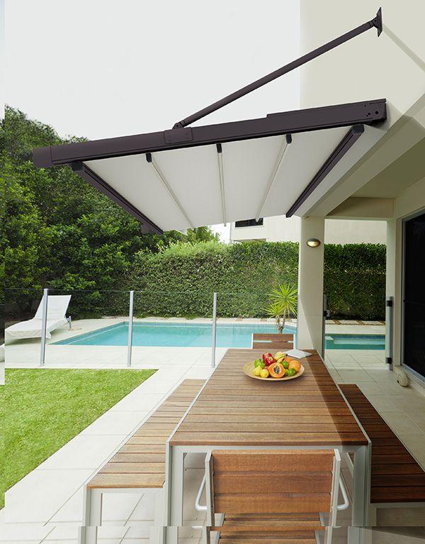 Toldo alicante moderno terraza pergolas para patio - Toldos para patios exteriores ...