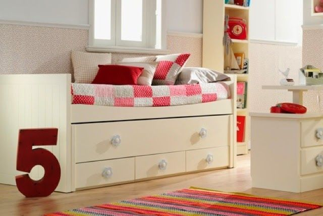 14 best cama compacta con cama desplazable images on for Cama compacta infantil