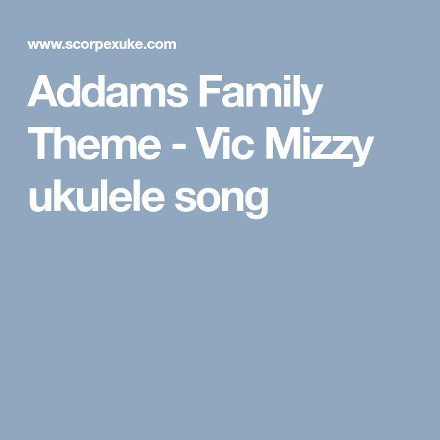 Addams Family Theme - Vic Mizzy ukulele song