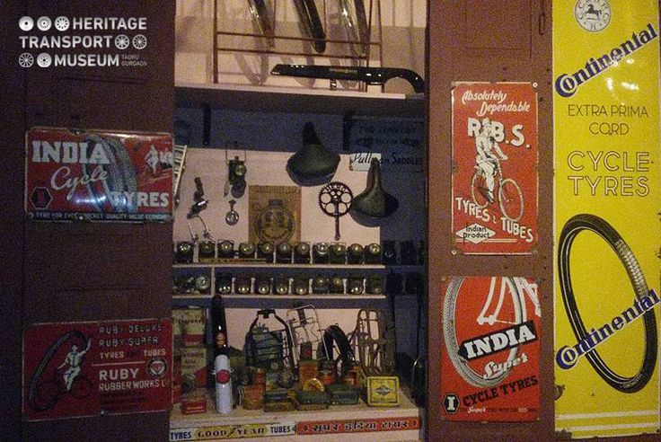 Cycle repair shop, a part of the street scene created in the car section of the museum. #street #heritage #transport #museum #travel #tour #cycle #repairshop #shop