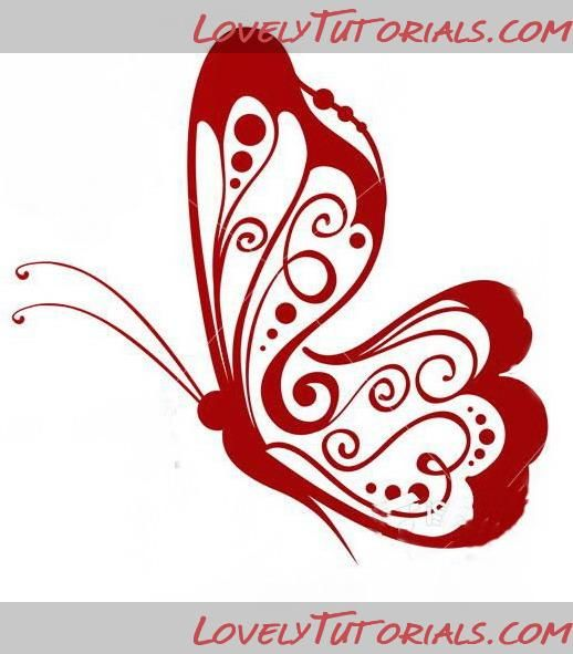 Butterfly templates. Royal icing work.