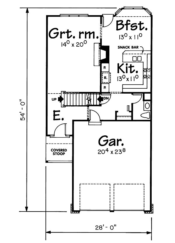 12 best narrow lot house plans images on pinterest for House plans for long narrow lots