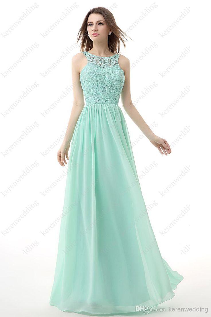 Special Mint Green Bridesmaid Dresses : Seafoam Green Lace Bridesmaid Dress