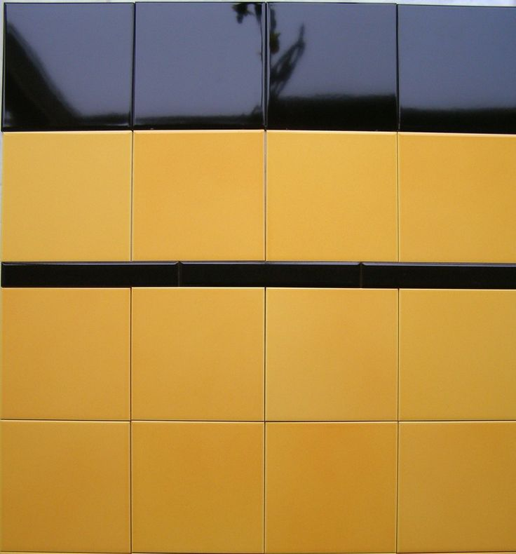 Mosa 7860 geel genuanceerd, leuk in jaren '30 woning