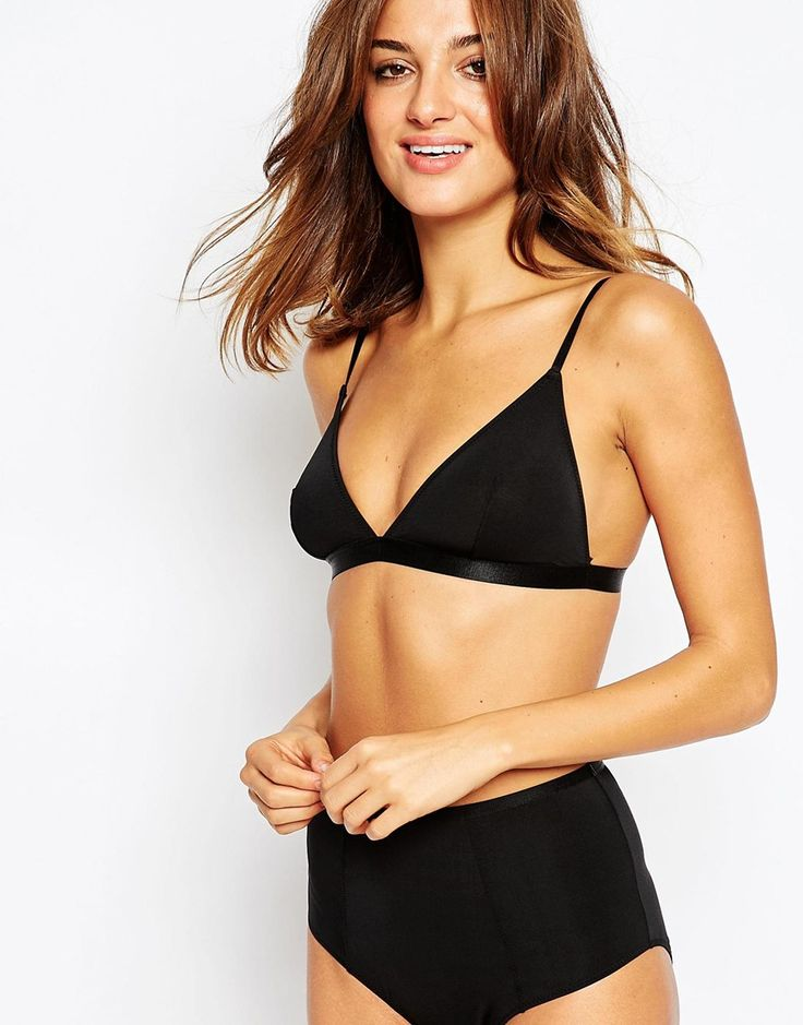 ASOS Basic Microfibre Mix & Match Triangle Bra
