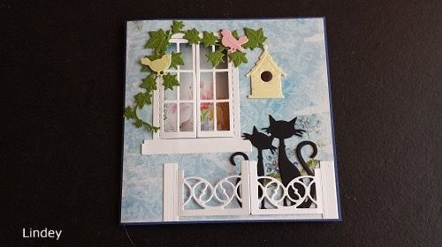 Happy Birthday card with window see true.