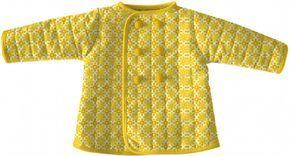 Materialien: * Stoff Heather Bailey - Snapdaisy Butterscotch ( Außenseite )  100 cm x 80 cm * Wattierung/Vlie...