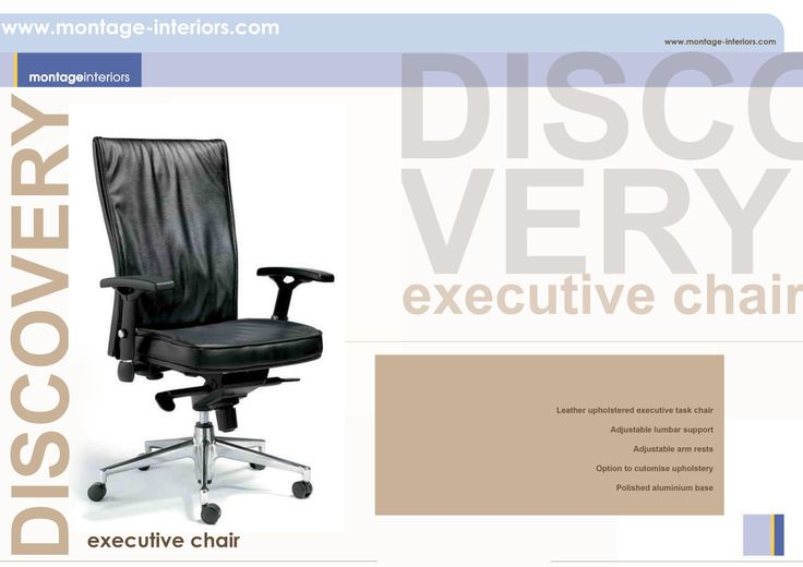 DISCOVERY executive desk chair
