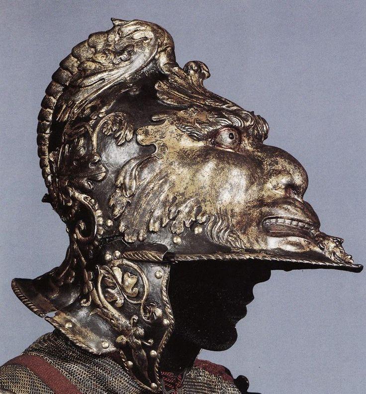 История вещей, костюма, искусства, мебели, интерьера и быта от художника кино. - Старинные шлемы и доспехи.15-16 век. Часть 2.