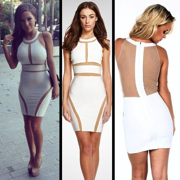 69 best all-white party dresses images on Pinterest | Party ...