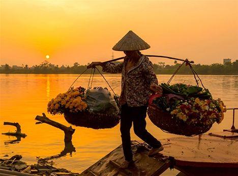 Vietnam och Laos