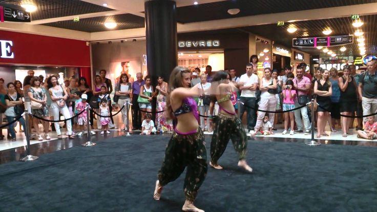 [VIDEO] Danse Bollywood - Naïma et Marie #Polygone_Montpellier