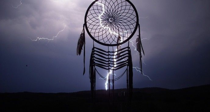 """Lightning Catcher,"" James Wolfchild, Unnamed Road, Saskatchewan"