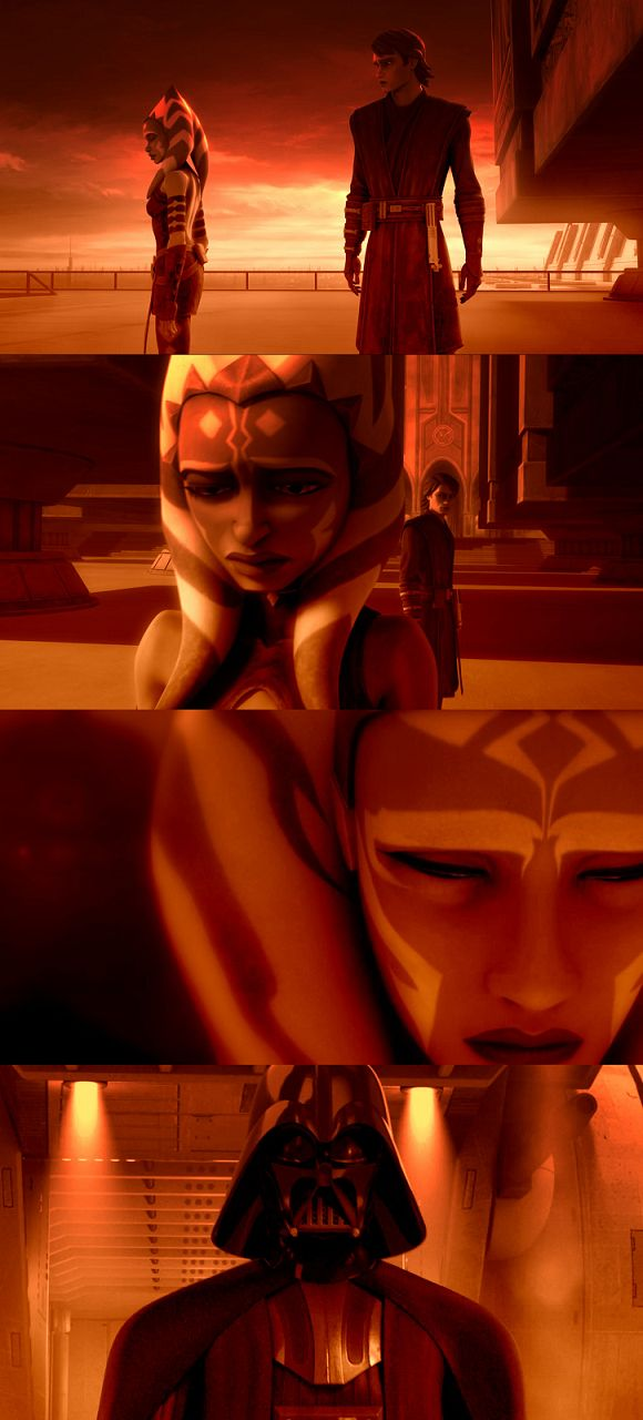 """""""Ahsoka… why did you leave?   Do you know… what... 