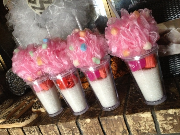 Bath sundaes!! Valentine gifts for teachers!
