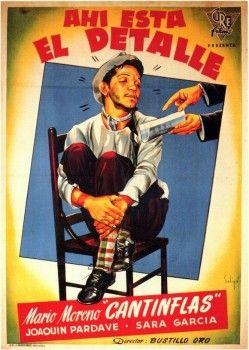 Cantinflas - Ahí está el detalle (1940) - Cine Mexicano Epoca de Oro                                                                                                                                                      Más