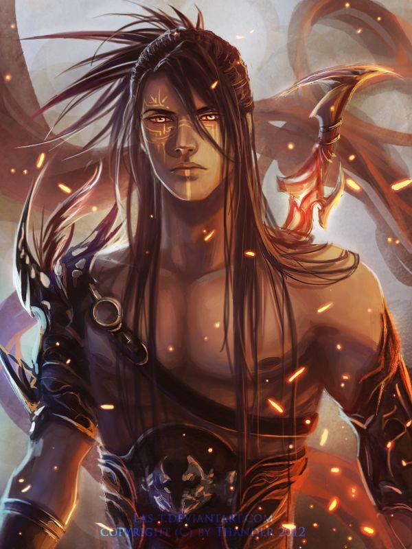 Jin Niobi by LAS-T on deviantART-- modern depiction of Loren's ancestor