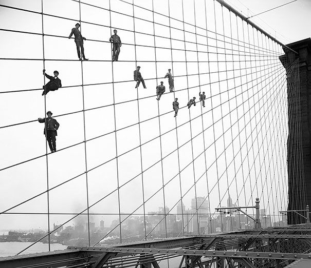 Painter Of The Brooklyn Bridge,1914