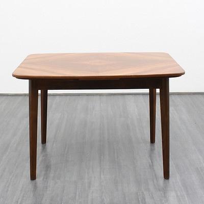Ebay table de salle manger bois de noyer avec for Salle a manger annee 50