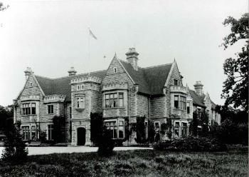 Bromham House (Bedford) from the south-west in 1903 [Z50/21/25] built by William Henry Allen.