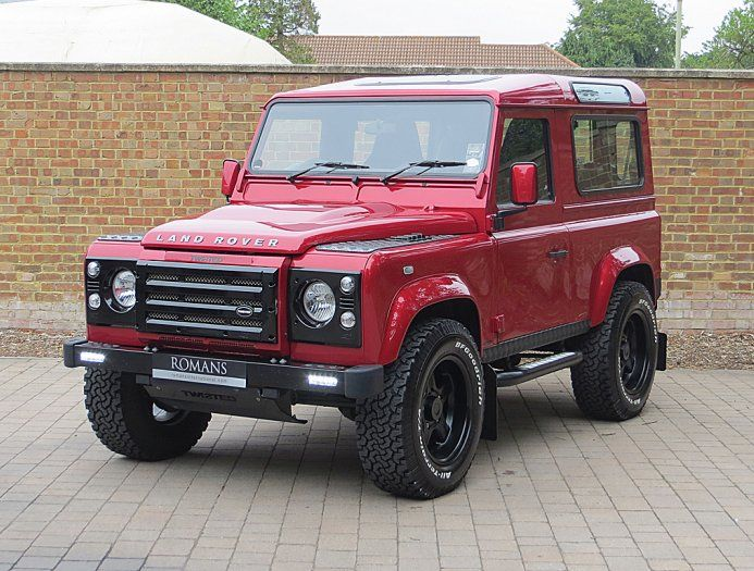 land rover defender 2013. 2013 63 used twisted defender 90 xs firenze red cars pinterest land rovers and rover