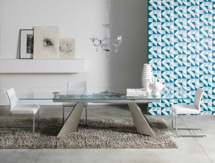 european furniture - contemporary dining table by NAOS furniture
