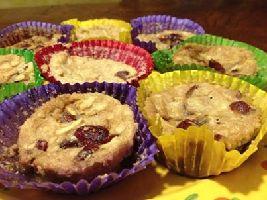 Een heerlijk Voedselzandloper recept voor muffins van boekweitmeel met amandelmeel.