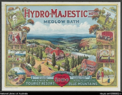 Hydro-Majestic Hotel, Medlow Bath, in the heart of the Blue Mountains, Katoomba, NSW, Australia